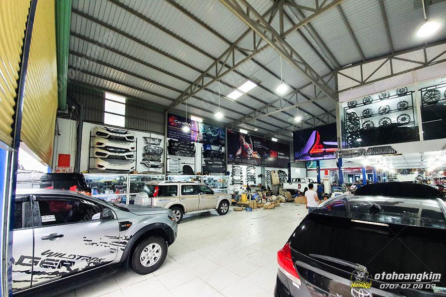 Ô tô Hoàng Kim phân phối và lắp ráp chụp pô ô tô giá tốt