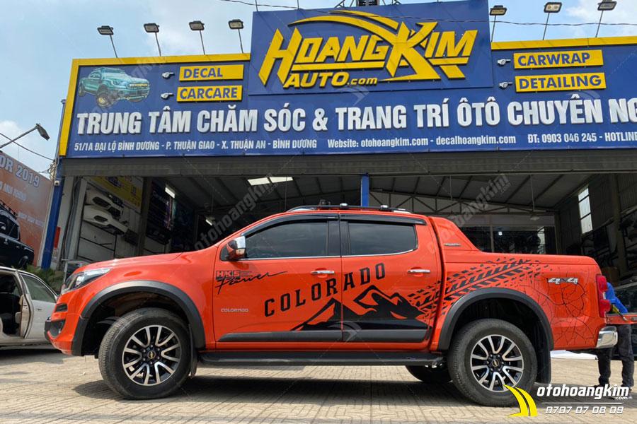 Ô tô Hoàng Kim chuyên cung cấp viền đèn trước Colorado đen