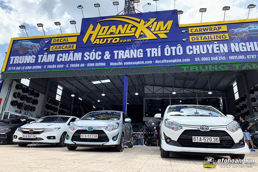 Ô tô Hoàng Kim là địa chỉ chuyên dán decal xe Ford theo mọi yêu cầu khách hàng