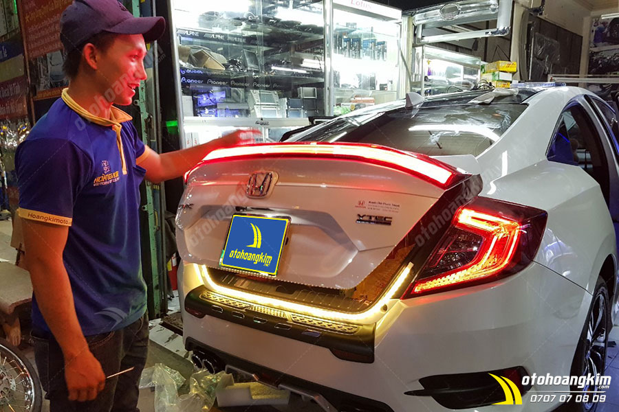Ô tô Hoàng Kim địa chỉ chuyên độ đèn LED ô tô chính hãng mẫu mới nhất