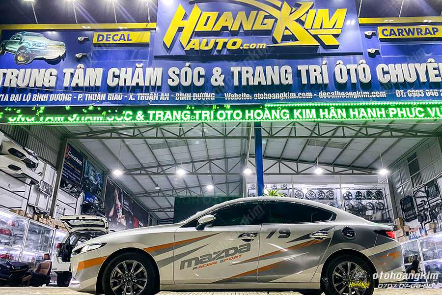 Ô tô Hoàng Kim chuyên độ mặt ca lăng Mazda 3 2015 - 2020 sao rơi