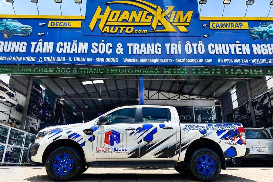 Ô tô Hoàng Kim chuyên độ xe bán tại theo yêu cầu