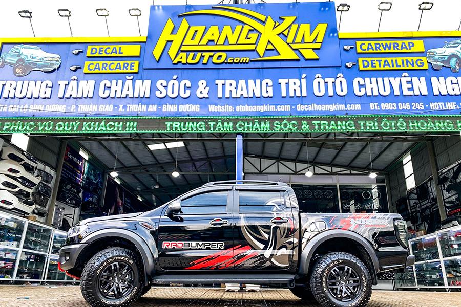 Ô tô Hoàng Kim chuyên độ xe Ford Ranger chuyên nghiệp