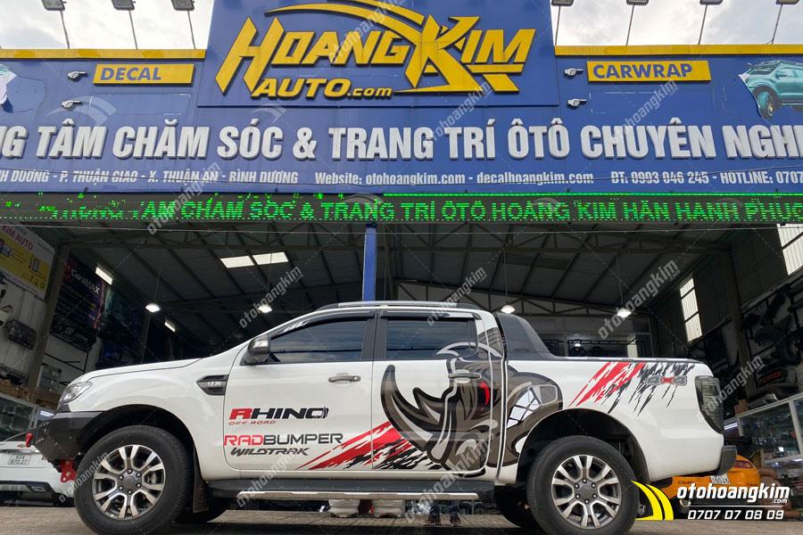 Ô tô Hoàng Kim chuyên nắp thùng cuộn điện Option 4x4 chính hãng