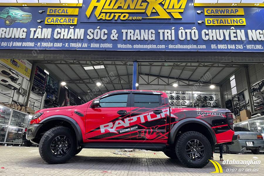 Ô tô Hoàng Kim chuyên nắp thùng cuộn điện Option 4x4 Raptor