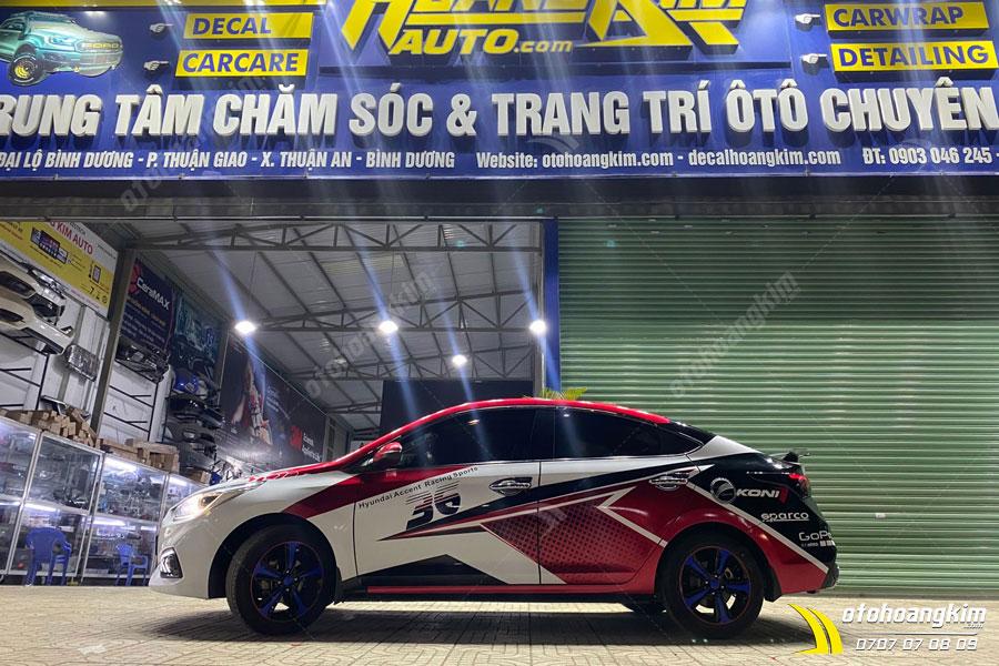 Ô tô Hoàng Kim chuyên sản phẩm ốp lippo Santafe