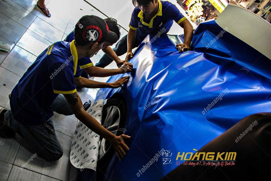 Ô tô Hoàng Kim là đỉa chỉ chuyên thiết kế và thi công wrap đổi màu xe ô tô