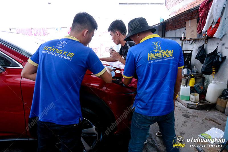 Ô tô Hoàng Kim chuyên xóa vết xước trên ô tô nhanh chóng, chuyên nghiệp nhất