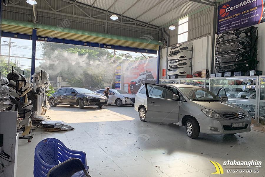 Ô tô Hoàng Kim nâng cấp âm thanh - hình ảnh uy tín