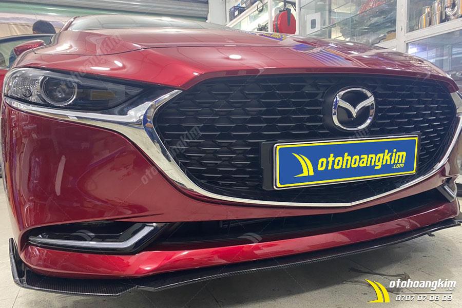 Mẫu ốp cản trước ô tô cho xe Mazda 3