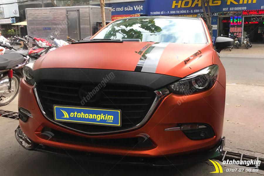 Ốp cản trước ô tô Mazda 3