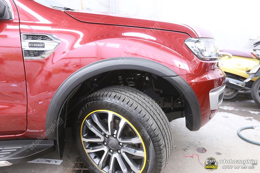 Ốp cua lốp ô tô Ford Everest