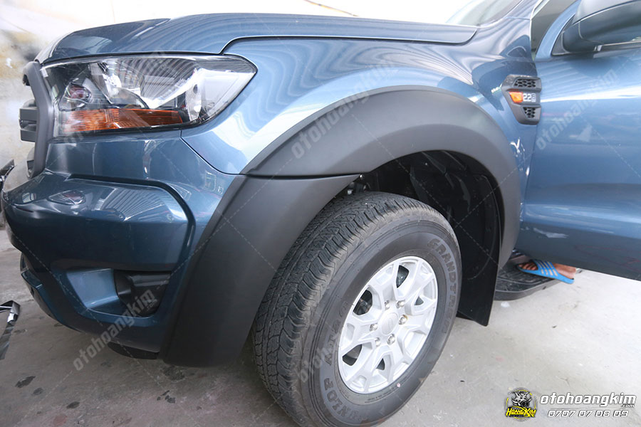 Xe bán tải Ford Ranger là một trong những dòng xe được lắp ốp cua lốp ô tô nhiều nhất