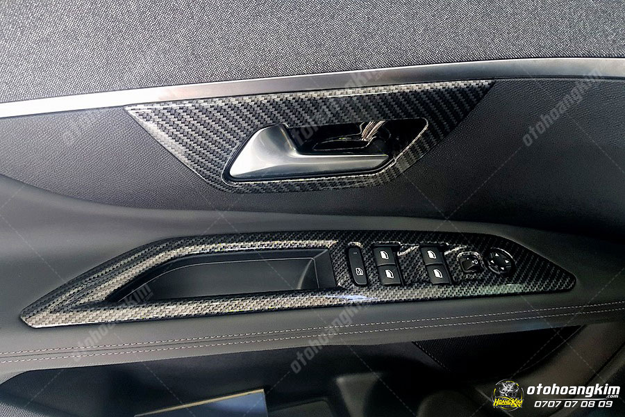 Ốp nội thất ô tô nguyên bộ cho Peugeot 5008