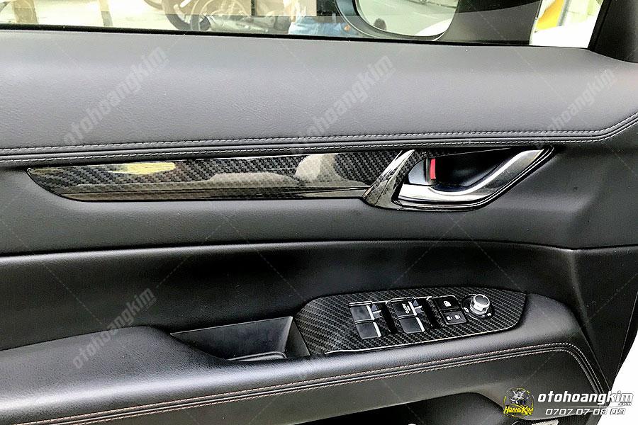 Ốp nội thất ô tô vân carbon