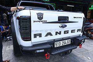 5 Lý do bạn nên lắp ngay ốp tay mở cốp Ford Ranger