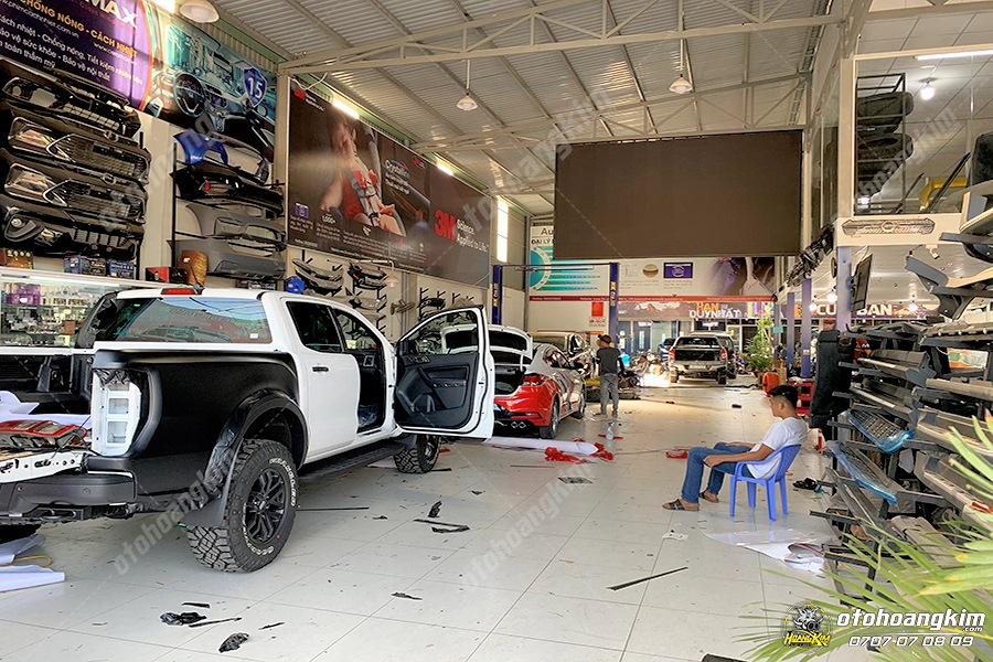 Ô tô Hoàng Kim chuyên cung cấp phụ kiến Ford Ranger chính hãng