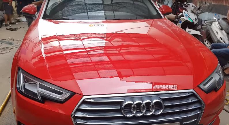 Phủ Nano Ceramic Audi A4