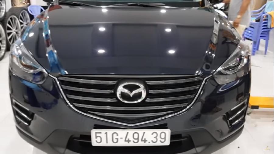 Phủ Nano Ceramic Mazda Cx5