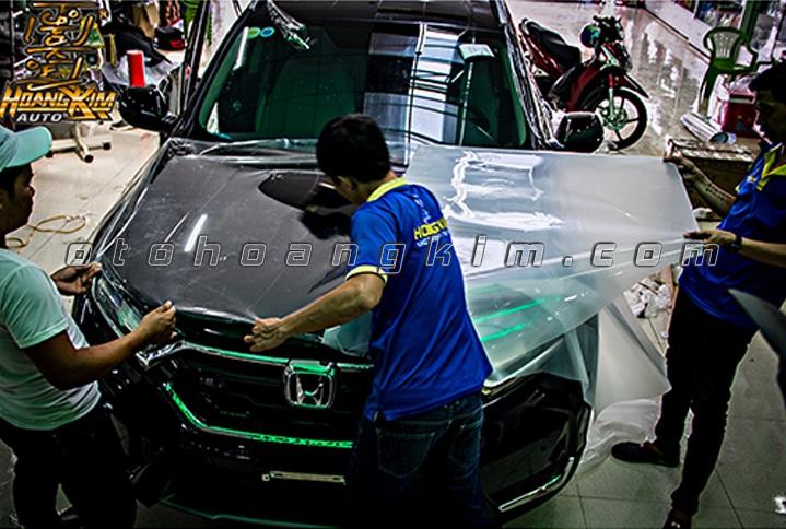 PPf protection film lên cho xe Honda City