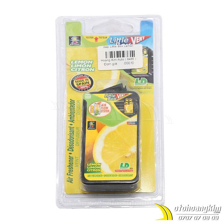 Sáp thơm ô tô hiệu Little Box hương Lemon