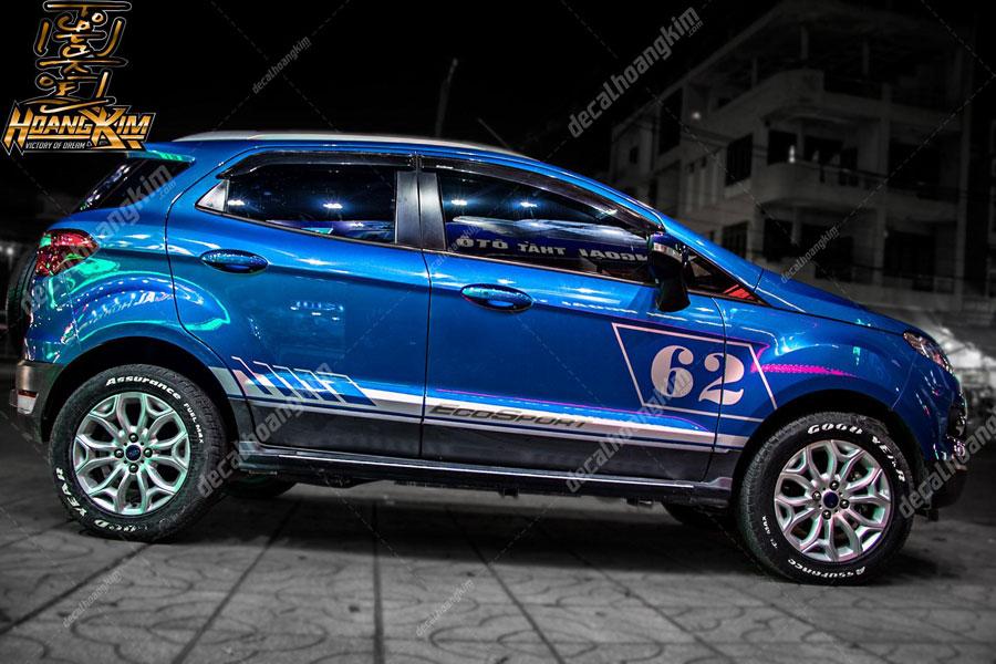 Tem xe Ford Ecosport cực năng động