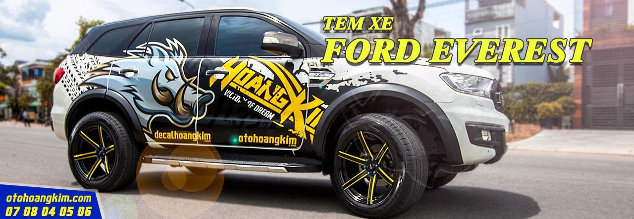 Tem Xe Ford Everest