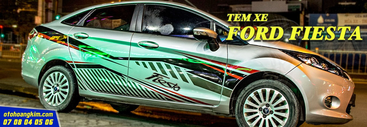 Tem Xe Ford Fiesta