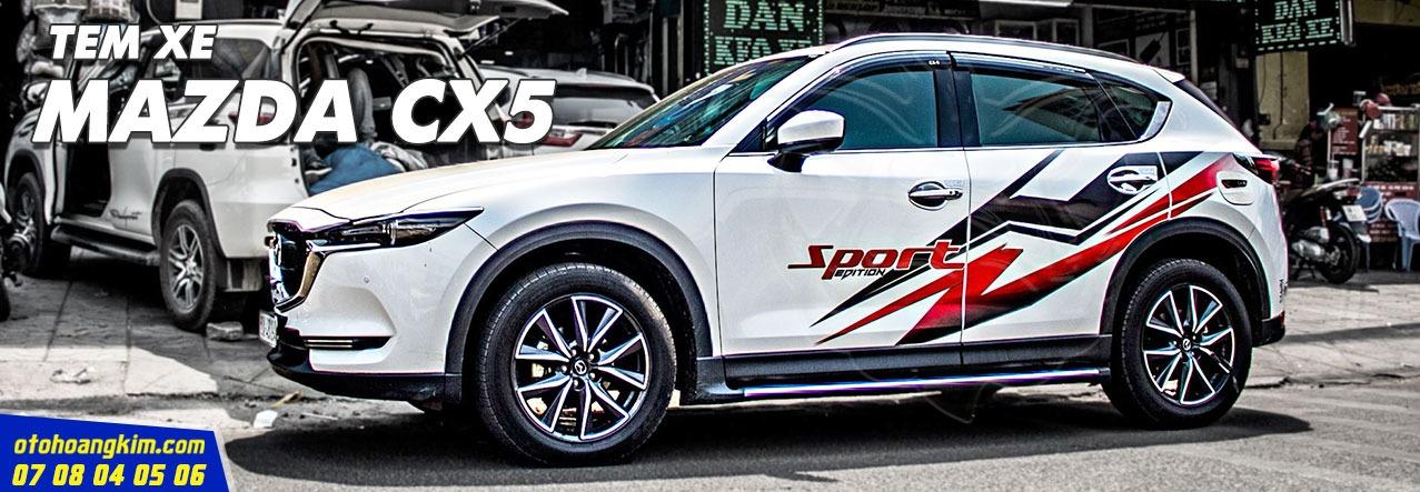 sản phẩm Tem Xe Mazda Cx5