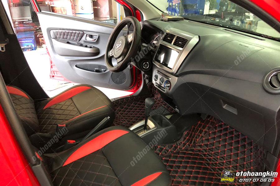 Thảm lót sàn ô tô 5D được may vừa khít với kích thước của xe