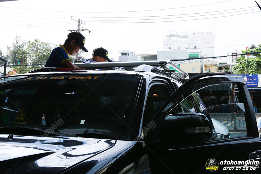 Thanh baga mui cao cho xe Toyota Fortuner