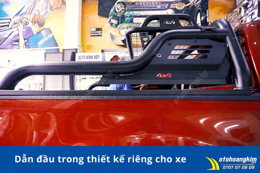 Vai thể thao 4x4 Ford Ranger giúp xe thêm phần mạnh mẽ táo bạo