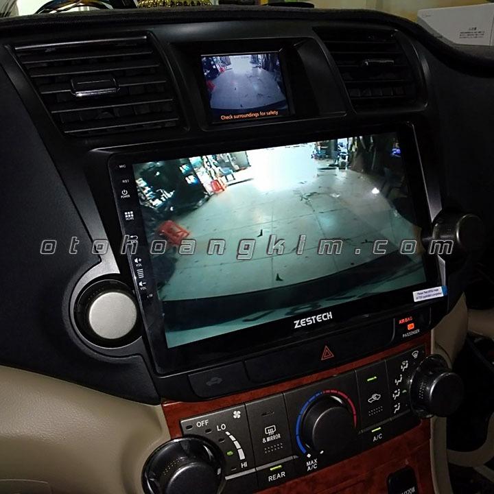 Màn hình DV Zestech Toyota Hilander