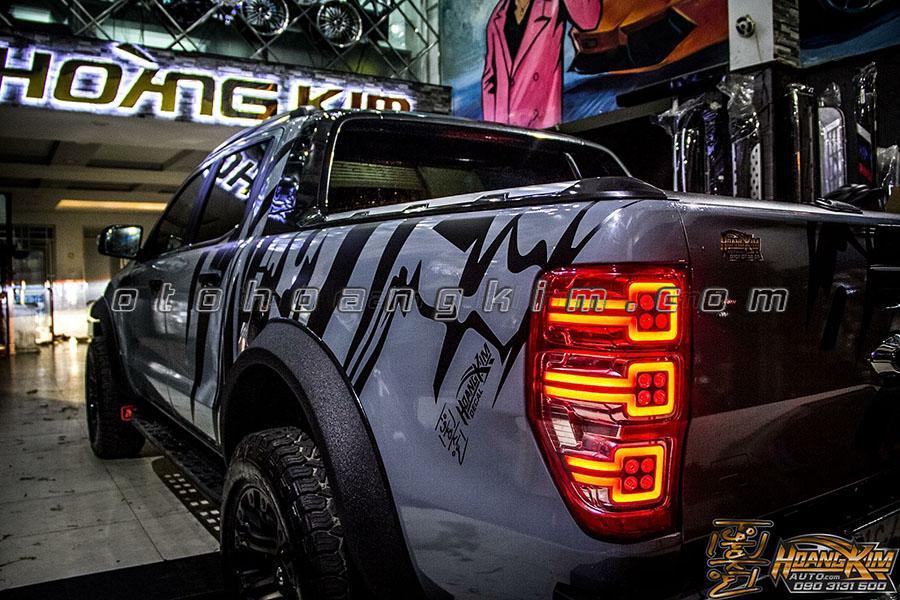 cản trước Ford Ranger raptor