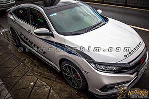 Body Honda Civic cacbon