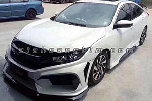 Body Honda Civic cacbon 01