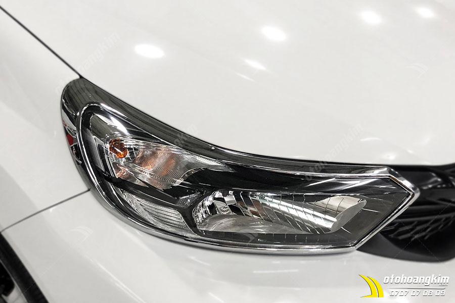 Viền đèn trước Brio cực sang trọng cho xe