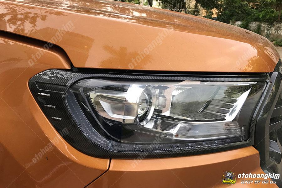 Viền đèn trước ô tô Ford Ranger